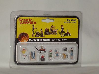 Woodland Scenics Scenic Accents Dog Wash #A1905 HO Scale