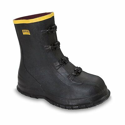 Ranger Black Waterproof Overboots Size 8 FREE SHIPPING!!