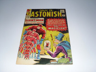 Tales To Astonish 56 : Poor - I Advert Page Missing : 1st Appearence of Unicorn
