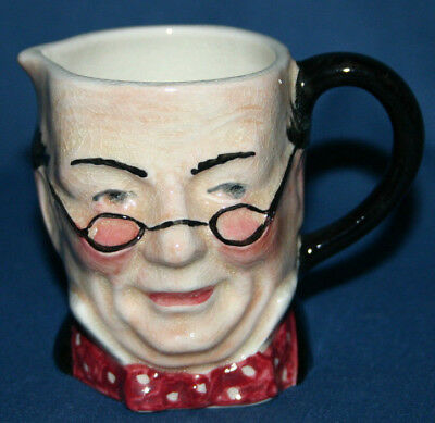 Mr Pickwick Sandland Ware Character Toby Jug Great Condition