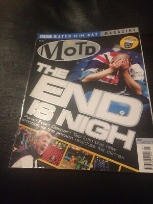 Motd Match Of The Day Football Magazine May 2001