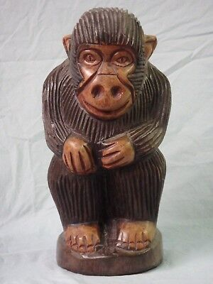 Modern African Monkey Carving