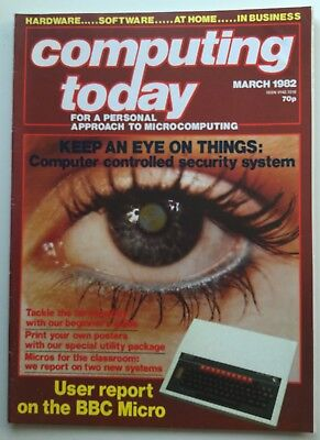 Vintage Computing Today Magazine | March 1982 - Volume 4 No.1