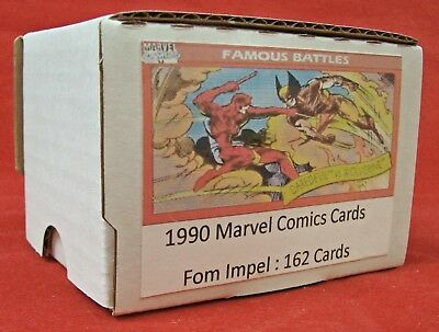 1990 Marvel Universe Series 1 (From Impel) – Complete 162 Card Set
