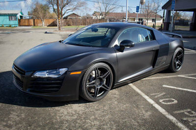 2008 Audi R8 Base Coupe 2-Door 2008 Audi R8 Coupe 6 speed Manual with 610HP and $60,000 in Upgrades