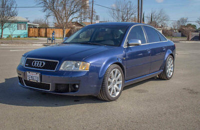 2003 Audi RS6 4dr Sedan 4.2L quattro AWD 2003 AUDI RS6 1 Owner CA RS6 Dealer Serviced by selling dealer since NEW!