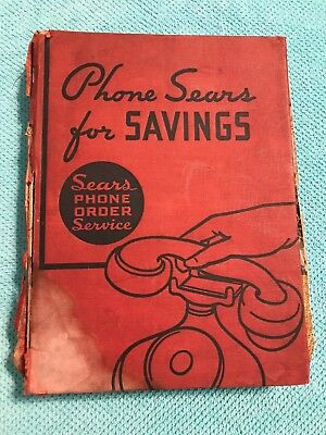 1937 spring & summer sears roebuck co catalog, 964 pages , chicago
