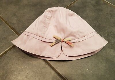 Genuine Burberry Baby Hat 0-6 months GOOD CONDITION