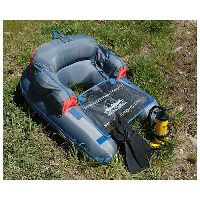 Float Tube and Fins Combo Pack (float tube and 1 pair of fins)