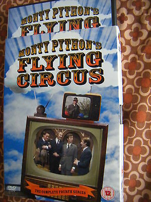 Monty Python's Flying Circus - Series 4 - Complete (DVD, 2007) with slip case-VG