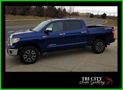 2014 Toyota Tundra Platinum 5.7L V8 2014 Toyota TRD Tundra SUPERCHARGED 5.7L V8 Crew Max - KING Suspension System