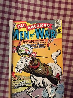 All American Men Of War Sept-Oct 1964 Comic Book