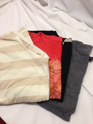 Lot Of 4 Womens  Short Sleeve Tops Size Extra Large - 1X
