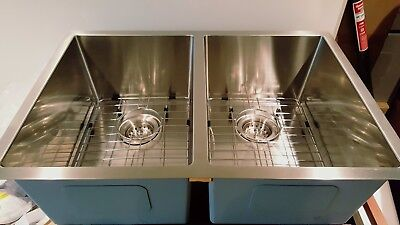 """Liquidation-Kitchen Sink for Small Base 28"""" inches double Small Radius 2819adr"""