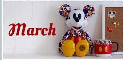 Disney 2018 Bold & Bright Mickey Mouse Memories March Limited Edition Plush