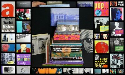 33 Andy Warhol Books Gifts Over 50 Lbs Of Andy Over $800.00 Tim Hunt Collection