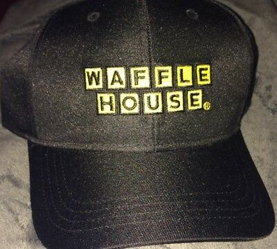 Back By Popular Demand Brand New Waffle House Black/yellow Ball Cap