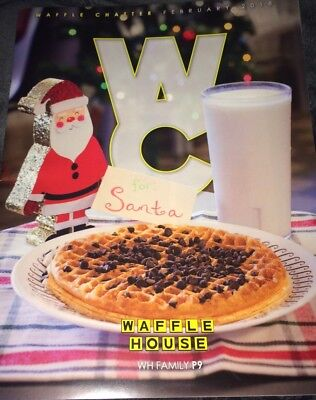 Brand New Waffle House Chatter 2018 Newsletter With Celebrity Guests