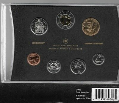 2006 Canada Specimen set with Snowy Owl  $1  red book case, &  Box but NO COA