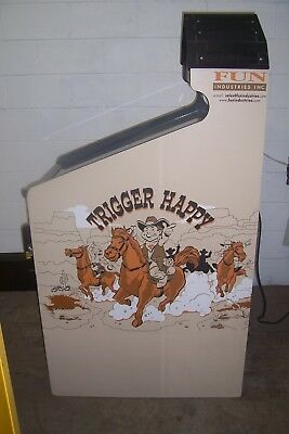 Trigger Happy Shooting Gallery Arcade Prize Redemption Game Trade Stimulator