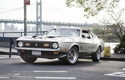 1971 Ford Mustang  1971 Ford Mustang Mach1 (complete rebuilt & restored)