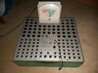 VIntage tube tester drug/department store style Calex MFG Amittyville NY
