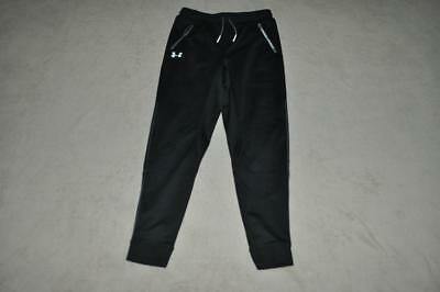 Under Armour Pennant Tapered Boys Pants Joggers/Sweatpants 1281072 001 Black NWT