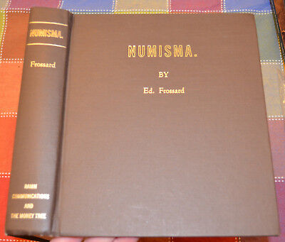 NUMISMA by Ed. Frossard, complete 1877-1891, Money Tree reprint #11 of 31, RARE!