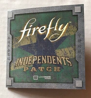 Firefly Independents Patch Loot Crate Exclusive