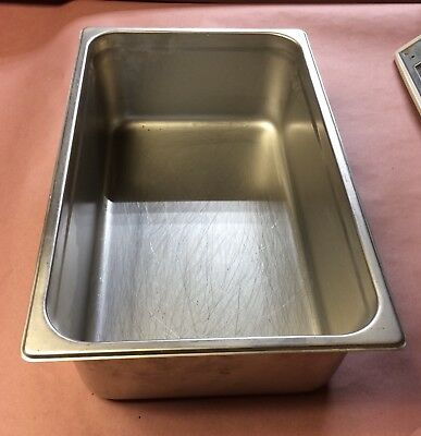 13x21 Stainless Steel Steam Table pan