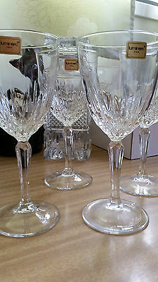 Four Luminarc of USA Crystal Wine Glasses in Georgetown? Design
