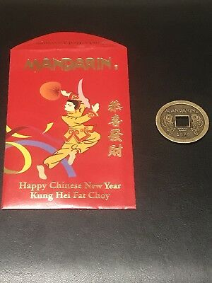 Mandarin Chinese New Year Gold Coin And Lucky Envelope
