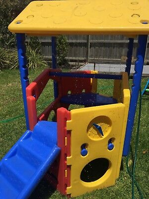 Kids Water Playground Cubby House Good Used Condition