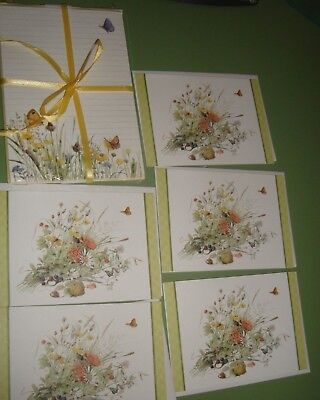 Marjolein Bastin Nature's Sketchbook Stationery Set & 5 Notecards