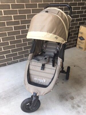 Baby Jogger City Mini GT Stroller Sand/Stone colour