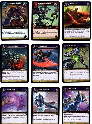 2009 World Of Warcraft Wow Tcg/ccg Death Knight 27 Card Complete Set
