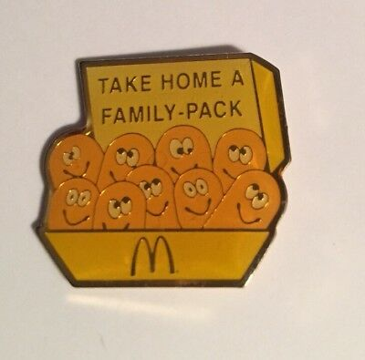 McDonald's Chicken Mcnugget Family Pack Lapel Pin
