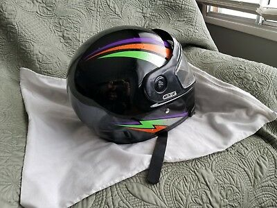 Vintage TEAM Arctic Cat Snowmobile Helmet Size xxl