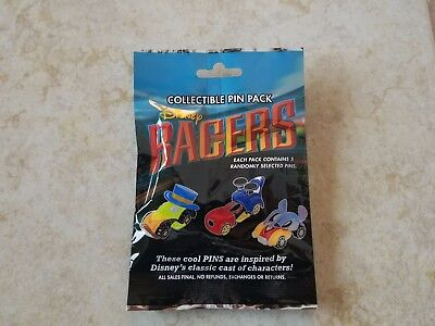 Pin Trading Disney Pins Lot of 5 Collectible Pin Pack New Character Racers