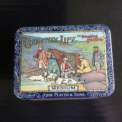 """ Country Life "" Tobacco Tin"