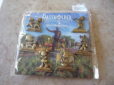 Disney Trading Pins Lot of 6 New WDW Passholder Collection Statue Minnie Dumbo