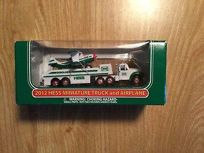 2012 Hess Miniature Truck and Airplane - Brand New!