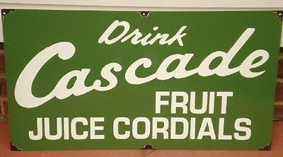 Cascade Enamel Sign 900Mm X 450Mm  (Made To Order) #18