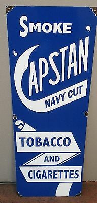 Capstan Cigarettes Enamel Sign (Made To Order) #30