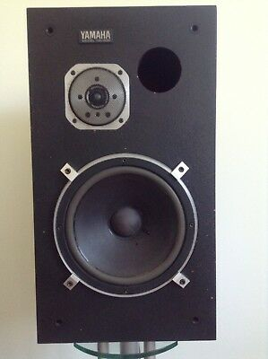 """Yamaha NS-500 Matched Pair Beryllium with 10"""" Bass Very rough boxes  Great Sound"""