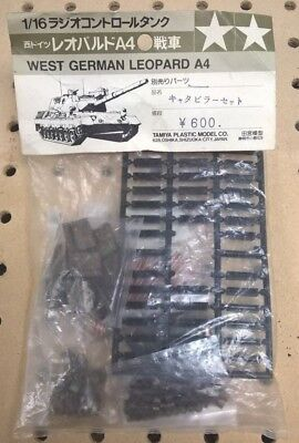 Tamiya RC 1/16 Leopard A4 West German Tank Metal Track Kit NOS NIP No Item #