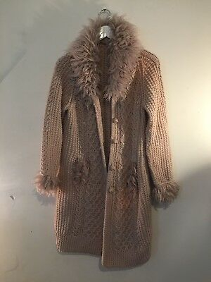 60's Vintage Style Long Cardigan