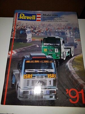 Revell Toys And Model Kits 1991 Catalogue In Very Good Condition