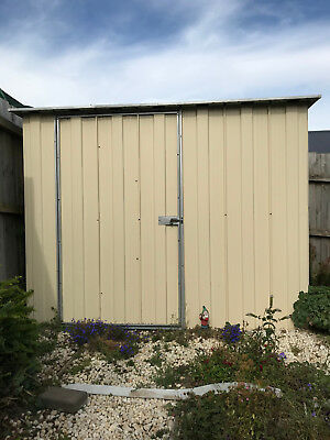 GARDEN SHED Colorbond Small Easy Access
