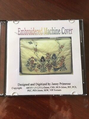 Machine Embroidery Designs - Sewing Machine Cover